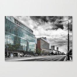 Warsaw art 1 #warsaw #warszawa Canvas Print