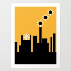 The factory Art Print