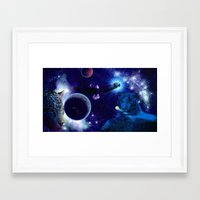 guardians of the galaxy Framed Art Prints featuring Guardians of the Galaxy by Dream Realm Photography and Art