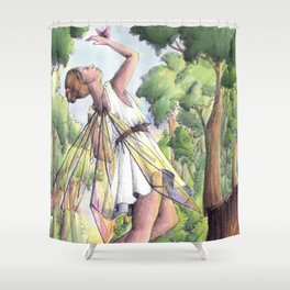 Dancing fairy Shower Curtain