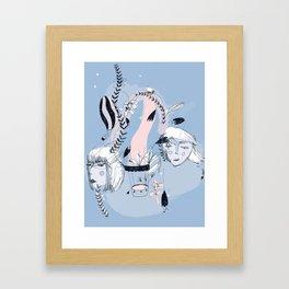 Airballoons Framed Art Print