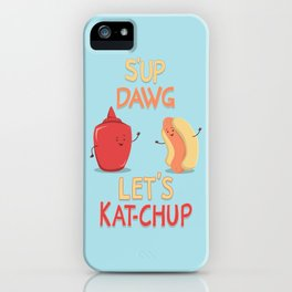 Good Old Friends iPhone Case