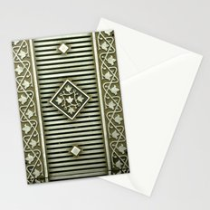 Metal Panel Stationery Cards