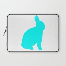 VFA Blue Rabbit Bunny For Animal Lovers Laptop Sleeve