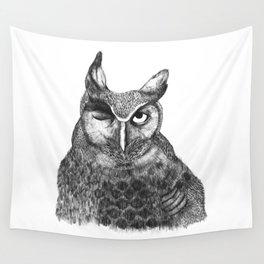 Owl Nr.1 Wall Tapestry