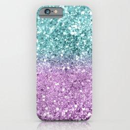 Mermaid Girls Glitter #6 #shiny #decor #art #society6 iPhone Case