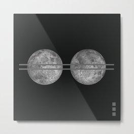 Metric Metal Print