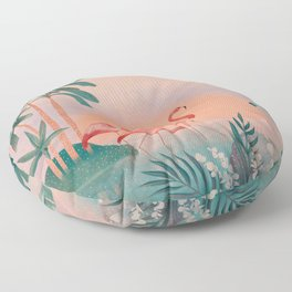 Secret oasis III Floor Pillow