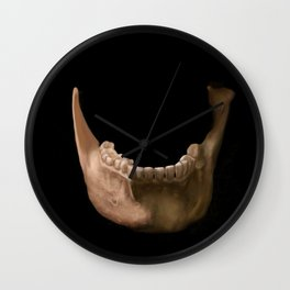 Mandible 2 Wall Clock