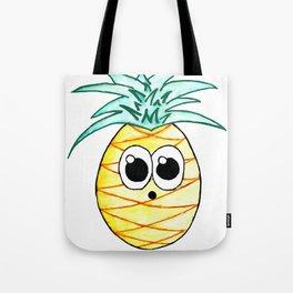 The Suprised Pineapple Tote Bag