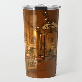 Tuscany. Italy.Cortona. Art Gallery. Travel Mug