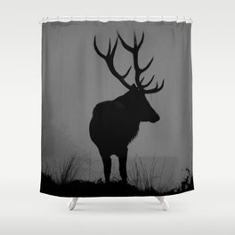 Wildlife, Monarch Of The Park Shower Curtain
