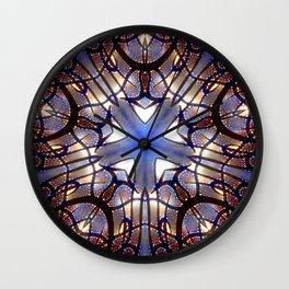 Sacred Geometry Star Wall Clock