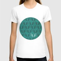 antlers T-shirts featuring Antlers by hannahclairehughes