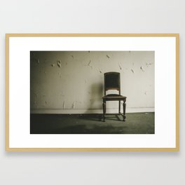 Without Companions Framed Art Print