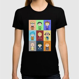 Anime Collage T-shirt