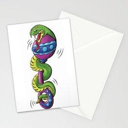 Rattle Snake Stationery Cards