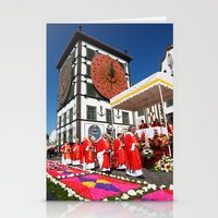 religious Stationery Cards featuring Religious festival by Gaspar Avila