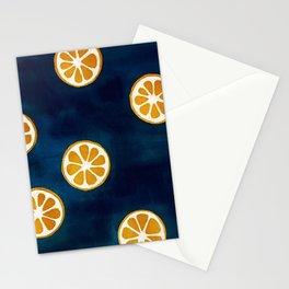 Orange Slices Stationery Cards
