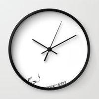 rockabilly Wall Clocks featuring rockabilly by Laura Francescutti