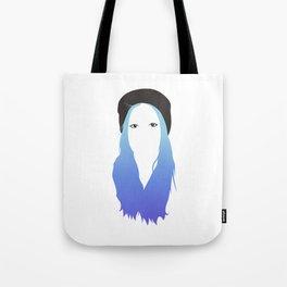 Blue Vector Tote Bag