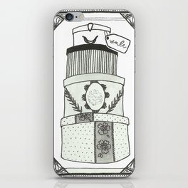 Hatboxes iPhone Skin