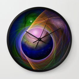 Entrance to universe Wall Clock