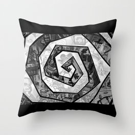 Past the madness... Throw Pillow