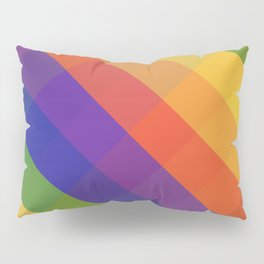 CRISS CROSS RAINBOW... Pillow Sham
