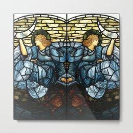 "Edward Burne-Jones ""The morning star"" Metal Print"