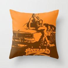 Hazzard & Girls Throw Pillow