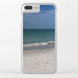 Without the Morning's Kiss Clear iPhone Case