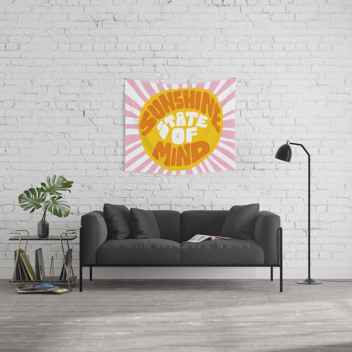 Sunshine Vibes Wall Tapestry