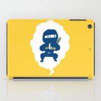 ninja iPad Cases featuring Ninja by taichi_k