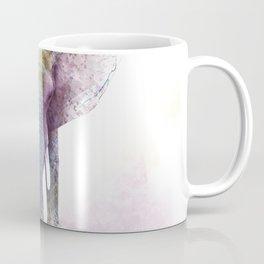 Watercolor Elephant. Digital illustration on white background. Coffee Mug
