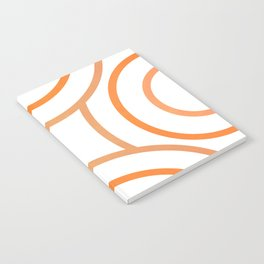 Swag Orange #abstract #decor #society6 Notebook