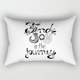 Find Joy in the Journey Rectangular Pillow