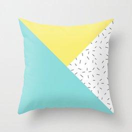 Geometry love Throw Pillow