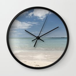 Dream beach Sea Ocean Summer Maritime Navy Wall Clock