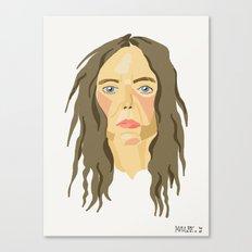 patti smith. Canvas Print