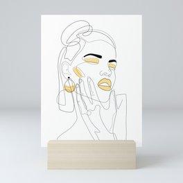 Lemon Splash Mini Art Print