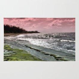 Slippery Beach Wonder Rug