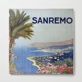 San Remo Metal Print