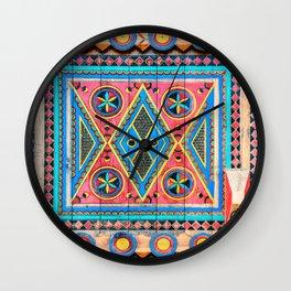 Saudi Colors Wall Clock
