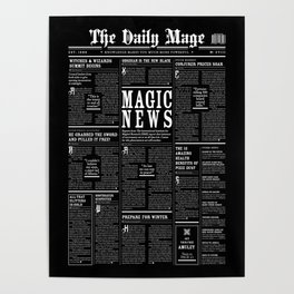 The Daily Mage Fantasy Newspaper II Poster