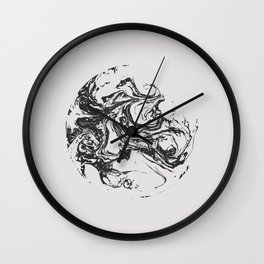 Swirling World V.2 Wall Clock