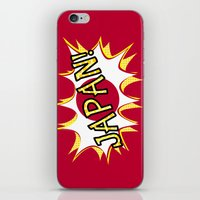 japan iPhone & iPod Skins featuring Japan by mailboxdisco
