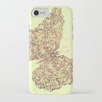 butterfly iPhone & iPod Cases featuring Butterfly by Mike Koubou