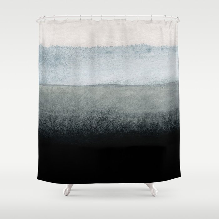 Shades Of Grey Shower Curtain By Patternization