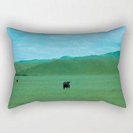 Keeping Distance Rectangular Pillow
